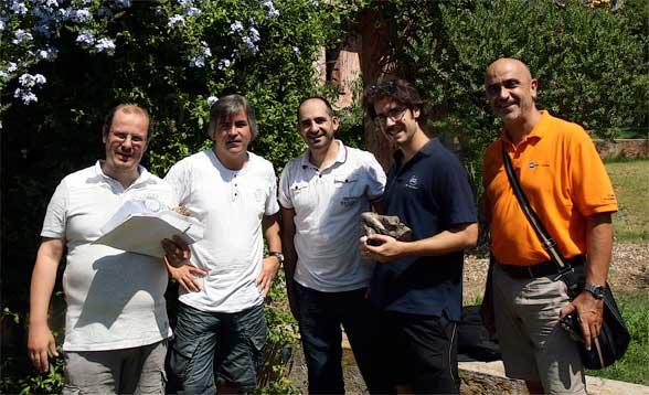 28 de junio 2012, formación de ISS en Italia