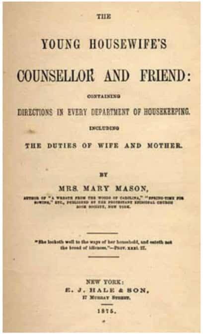Fig. 4. La prevención y el tratamiento de las chinches de cama se mencionaron a menudo en las guías del siglo XIX sobre el mantenimiento de un hogar limpio y saludable.