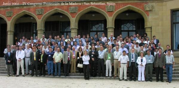 IV Congreso Protección de la Madera, Junio 2005. San Sebastian