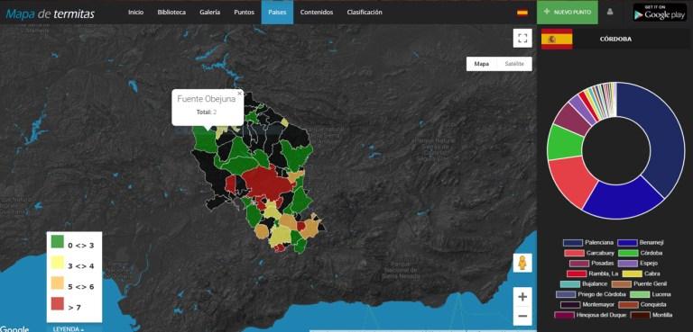 Imagen 9b-Detalle de la actividad de municipios por cada provincia