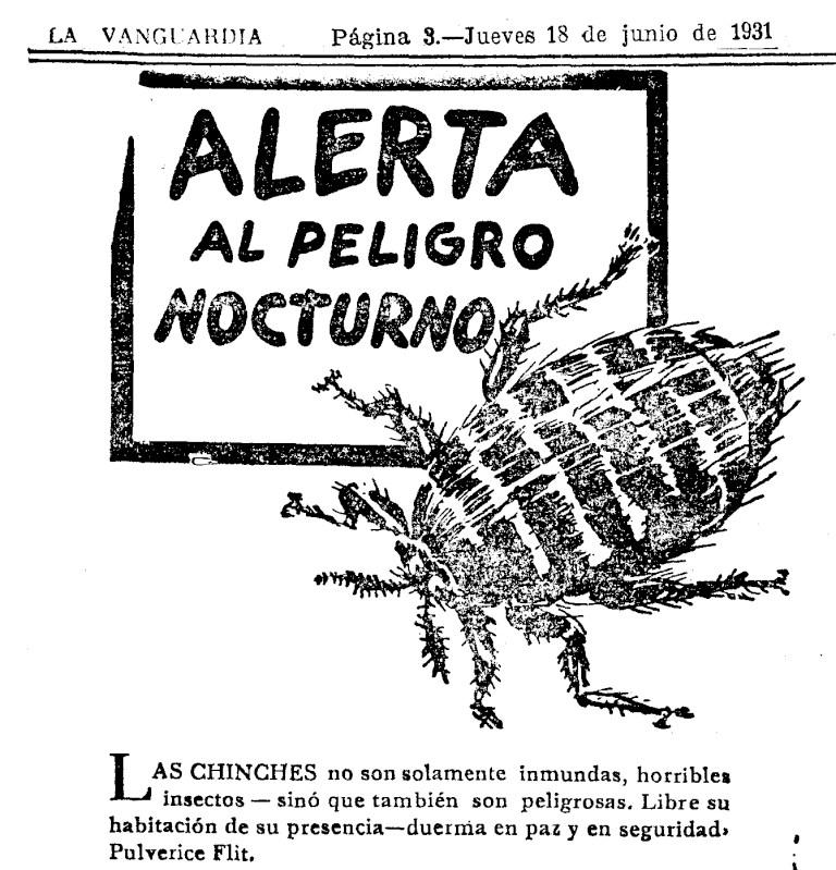Combatiendo el terror nocturno en España en 1931