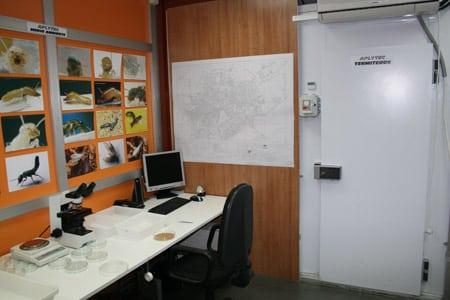 Laboratorio de termitas (Córdoba)