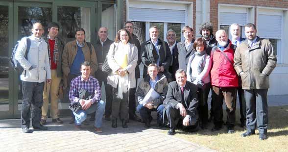 sub-comité de AENOR como expertos en termitas de España