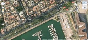 Zona en Alicante en la cual se detectó la presencia de Cryptotermes b.
