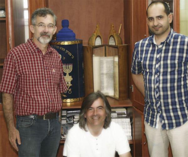 Dr. Simcha Finkelman, Eduard Durany y David Mora